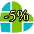 Скидка 5% на консультацию врача-специалиста по результатам МРТ